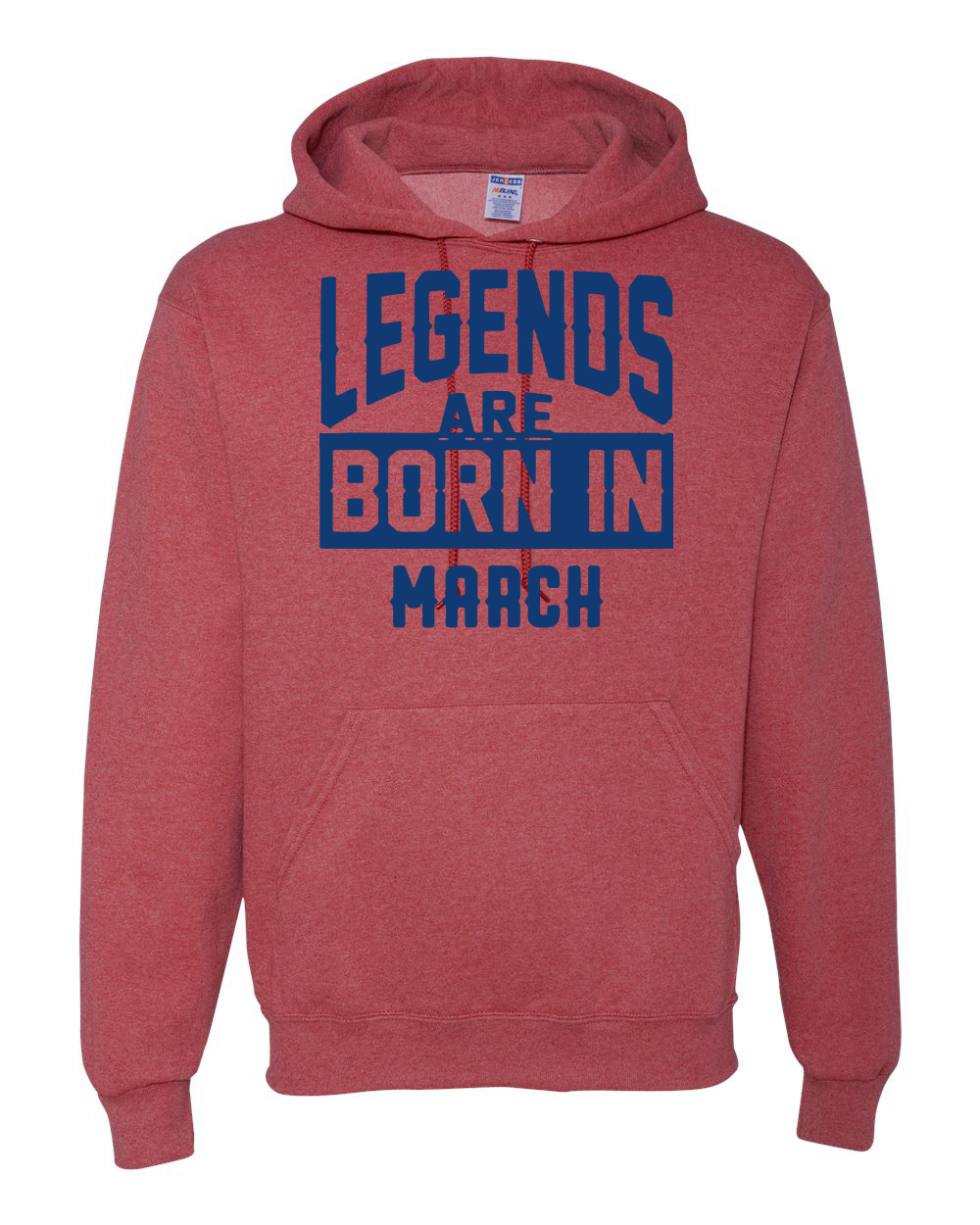 be777eaa5 Legends Are Born In March Mens Birthday Sweatshirt Anniversary ...
