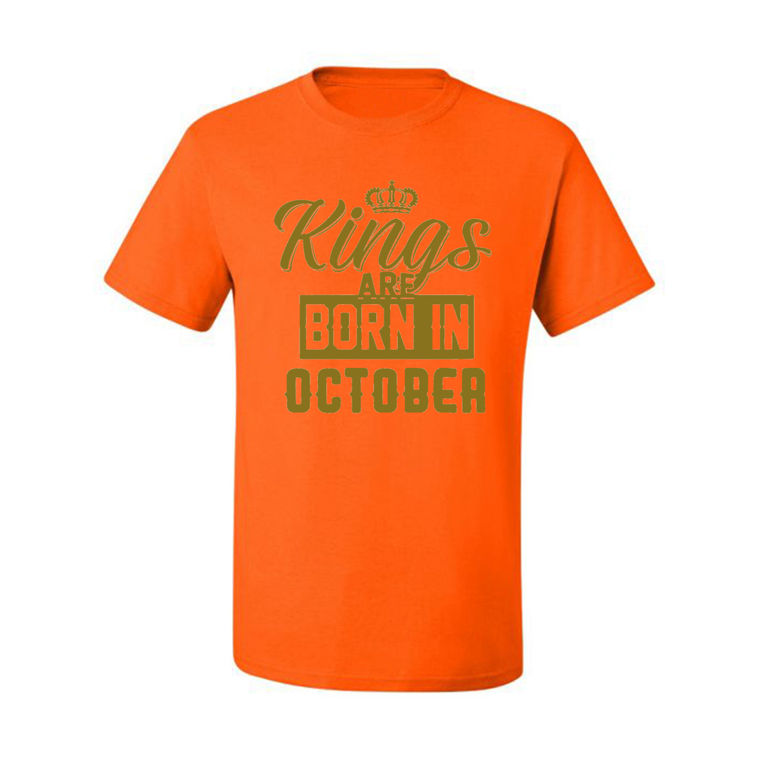 Kings-Are-Born-In-October-Mens-Birthday-T-Shirt-Graphic-Anniversary-Gift-Tee thumbnail 30