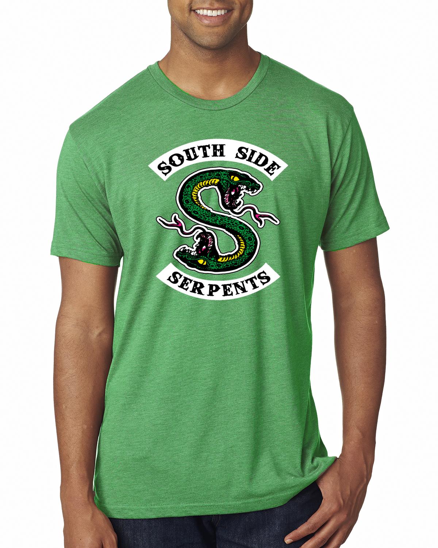 78d30086 Southside Serpents Soft Premium T-Shirt Graphic Riverdale Tee | eBay